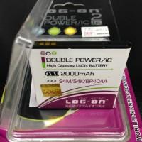 Baterai Log On Advan S4M / S4K / BP40AA Double Power IC Advan BP-40AA