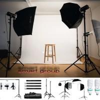 FULL SET Studio Foto Profesional Paket A