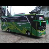 TERLARIS Miniatur Bus PANDAWA 87 Jetbus SHD Hijau