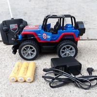 RC CAR JEEP ( MOBIL REMOTE CONTROL, RADIO CONTROLE, MAINAN ANAK )