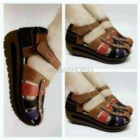 PROMO WEN21 Sepatu Sendal Sandal Wedges Boot Boots Kets Hak Tinggi Un