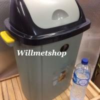 Tong Sampah Tempat Sampah Dustbin BESAR 60 Liter