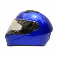 KA Helm Zeus Full Face ZS 811 Solid Yamaha Blue Bonus Visor