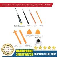HS Jakemy Smartphone Screw Driver Repair Tools Set 15 in 1 - JM-9101
