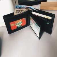 Dompet Kulit Asli Kualitas Export / Genuine Leather Wallet Pria Murah