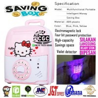 Mainan Celengan Saving Box Brankas Hello Kitty Musik Lampu SNI Promo M