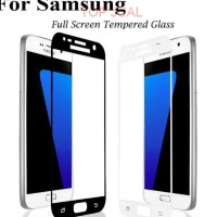 Tempered Glass Full Layar Samsung A3-A5-A7 2017 Dan J3-J5-J7 Pro 2017