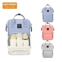 Diaper Bag Multifungsi (Merk Aboutbaby) Tas Bayi Ransel About baby