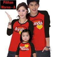 Pakaian Anak Laki-Laki Baju Tidur Kaos Pasangan Keluarga Couple Family