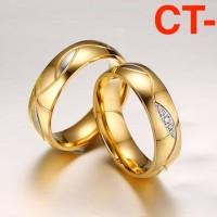 Cincin Berlian Cincin Emas Cincin Titanium Couple Ring Cincin Couple 3
