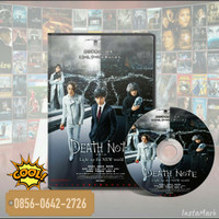 Dvd Film Death Note Light Up The New World