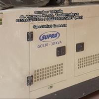 Genset Silent 30kVa SUPRA