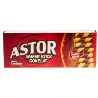 ASTOR WAFER DOUBLE CHOCOLATE 150GR