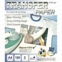 T-SHIRT TRANSFER PAPER BAJU CERAH UNTUK INKJET PRINTER Limited