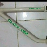jual Decal cutting sticker Dahon Da Bike USA