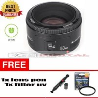 Jual Lensa Yongnuo 50mm f1 8 for Canon fix Lens Blur Paket Murah