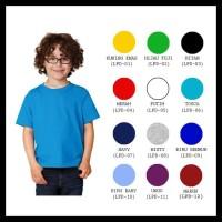 (New Product!!) Kaos Polos Anak Unisex Tangan Pendek Bahan Cotton
