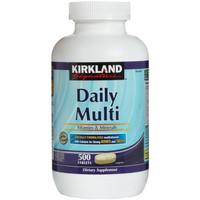 kirkland daily multi 500 tabs optimen multivitamin #Suplemen Fitness