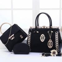 tas hand bag wanita Cartier Behel 8815