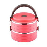 Bobwin Airtight Lunch Box 1,2 L Atria Red Pink