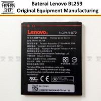 Baterai Lenovo BL259 Vibe K5 K5 Plus K5+ Original  Vizz BL 259 Batre