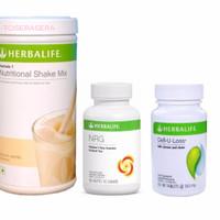 Shake Herbalife/HERBALIFE/Toserasera--( VANILLA + NRG + CELL U LOSS )