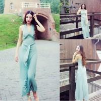 JES-PS1094 longdress maxi dress party import korea-baju gaun pesta