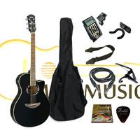 Gitar apx / gitar akustik model yamaha apx 500l equalizer PRENER LC