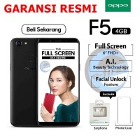Handphone HP Oppo F5 RAM 4GB ROM 32GB Octa Core F5 GARANSI RESMI