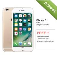 APPLE IPHONE 6 GOLD 16GB - GSM GARANSI DISTRIBUTOR 1 TAHUN