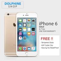 APPLE IPHONE 6 GOLD 16GB GSM GARANSI 1 TAHUN