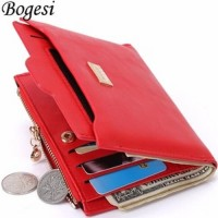 Bogesi Dompet Wanita Zipper Wallet Short Section - BOGESI839