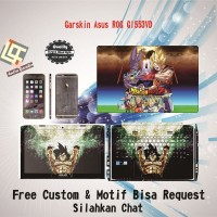 Garskin Laptop Asus ROG GL553VD Full Body motif Dragon - free Custom