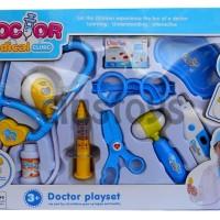 Mainan Anak DOCTOR MEDICAL CLINIC PLAYSET DUS BIRU - DOKTER DOKTERAN