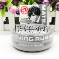 Gatsby moving rubber grunge mat abu abu 80g / hair wax / hair gel