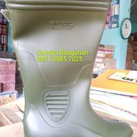Sepatu Boot ANDO Karet Tinggi - Sepatu Boots Proyek Anti Air Lumpur