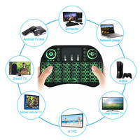 Keyboard wirelles untuk tv box smart tv laptop notebook baterai bl 5c
