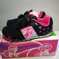 Jual Sepatu anak DISNEY Hasbro My Little Pony 26-30 Black Pinkie Pony Murah