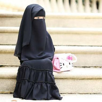 Niqab Niqob Cadar Yaman Elma Mat'am kids anak