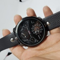 JAM TANGAN PRIA DIESEL FOUR TIME STRAP LEATHER