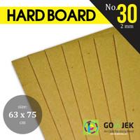 Karton Yellow Hard Board No. 30 Tebal 2 mm PLANO 63 x 75 cm
