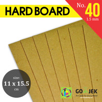 Karton Kuning Yellow Hard Board No. 40 ukuran 11 x 15.5 cm