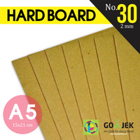 Karton Board No. 30 Ketebalan 1.5 mm size 150 x 210 mm