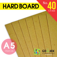 Karton Board No. 40 Ketebalan 1.5 mm size 150 x 210 mm