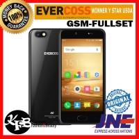 Hp murah Android EVERCOSS WINNER Y STAR U50A 2/16GB + FINGER PRINT