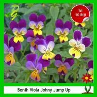 Benih Bunga Viola Johny Jump Up-Isi 10 Biji