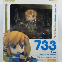 Nendoroid No.733 Link Breath Of The Wild Version by GSC NEW MIB