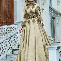 Fattima Collection Baju Busana Muslim Wanita Gamis Pesta Terbaru CKR