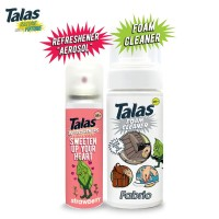 Talas Foam Cleaner Fabric & Talas Refreshener Aerosol Strawberry