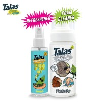 Talas Foam Cleaner Fabric & Talas Refreshener Pump Sprayer Lemon
